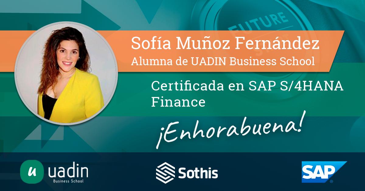 Sofía Muñoz Fernández